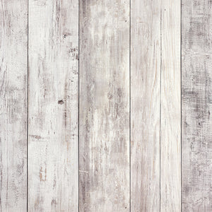 "15"" Grosfillex PVC Wall Panelling Rustic White Wood"