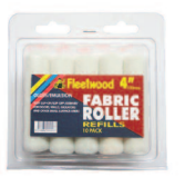 "Fleetwood 4"" Fabric Sleeves Refill Pack 10"