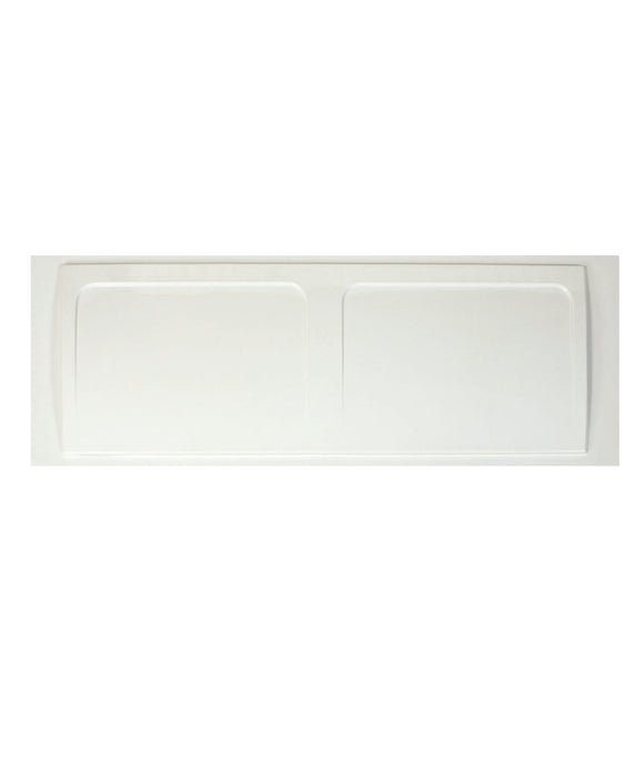 Bath Panel White 700 End Panel PVC