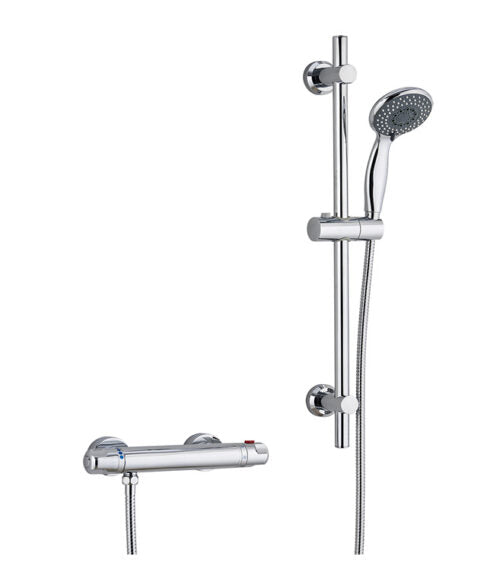 Plus Thermostatic Bar Shower Valve Set