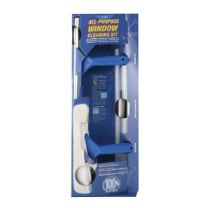 Ettore All Purpose Window Cleaning Kit