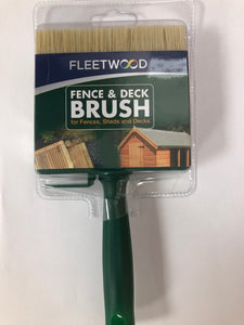 "Fleetwood 4"" Fence & Deck Brush"