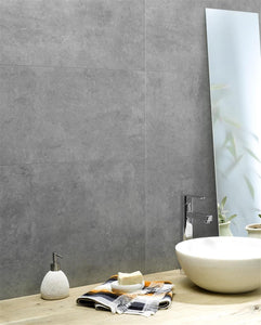 Dumawall Composite Wall Tiles 1.95SQ.M polished concrete