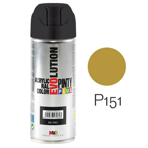 Pinty Plus Evolution Aerosol Spray Paint 400ml Gold