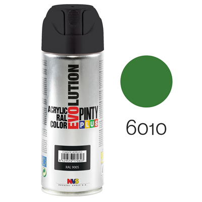 Pinty Plus Evolution Aerosol Spray Paint 400ml Grass Green