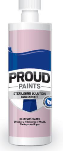 Proud Paint Sterilising Solution Concentrated 240ml