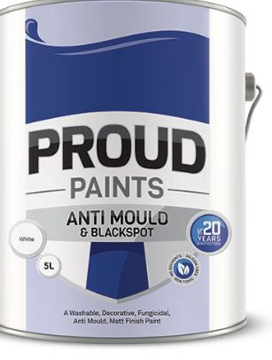 Proud Paint Anti Mould & Blacksopt White 2.5Lt