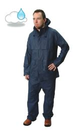 Rainsuit Navy Nylon Medium