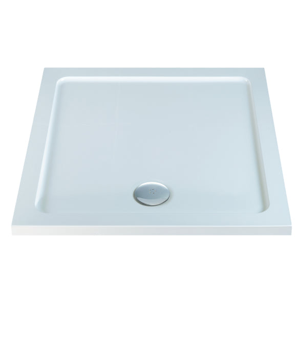 Niko Elements 900mm Square Low Profile Shower Tray c/w waste