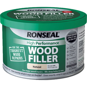 Ronseal High Performance Wood Filler 275g Natural