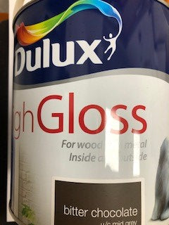 Dulux High Gloss Bitter Chocolate 2.5lt