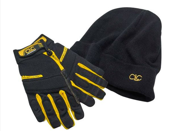 CLC Beanie Hat & Flexi Grip Gloves