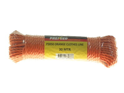 Orange Clothes Line 30mt