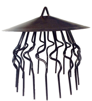 Jackdaw Chimney Crow Guard with Rain Cover