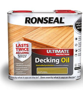 Ronseal Decking Oil 5lt Natural