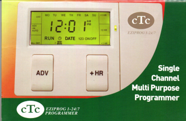 CTC Time Clock Programmer 1 Channel