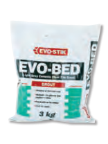 Evo-Stik Evo-Bed Floor Tile Grout 3kg