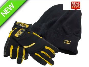 CLC Flexi Grip Framers Gloves & Beanie Hat