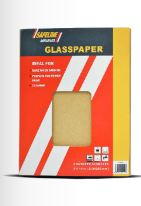 Glass Sand Paper 5 Sheets Assorted