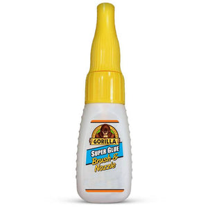 Gorilla Super Glue 12g Brush & Nozzle