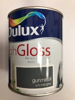 Dulux High Gloss Gunmetal 2.5lt