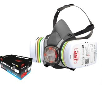 JSP Force 8 Half Mask c/w P3 Filters