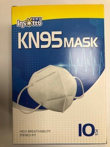 FACE DUST MASK KN95 Box (10)