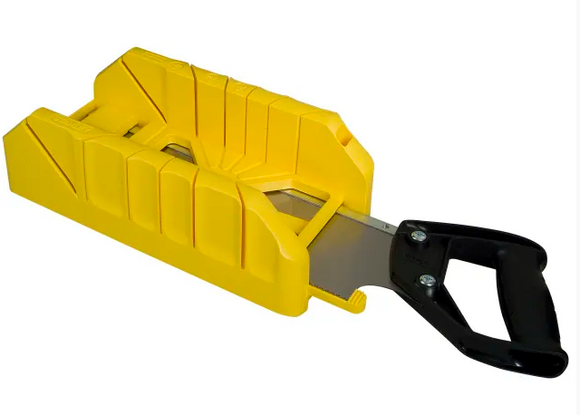 Stanley Saw Storage Mitre Box with Saw