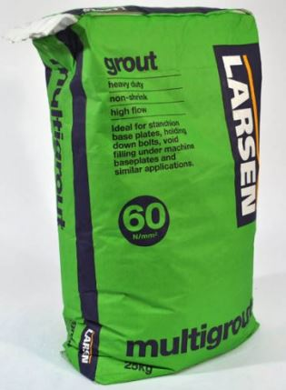 Larsen Non Shrink Multi Grout 25kg