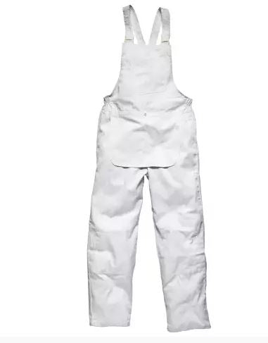 Painters Bib & Brace Coverall White X Large