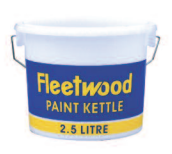 Fleetwood 2.5lt Plastic Paint Kettle