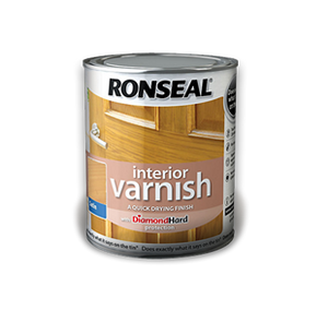 Ronseal Interior  Varnish 750ml Satin Light Oak