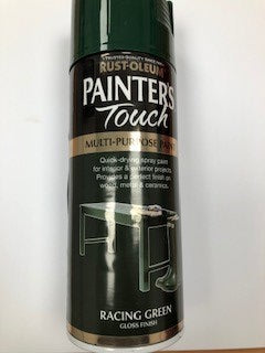 Rust-oleum Painters Touch Racing Green Spray Paint 400ml