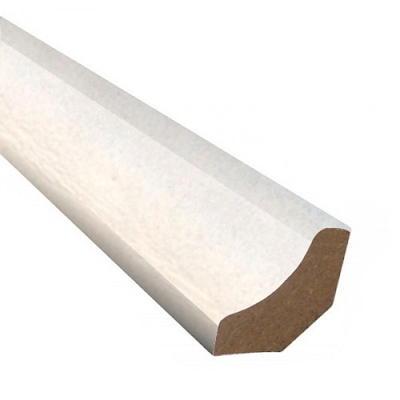 Scotia 16mm MDF White 2.4mt