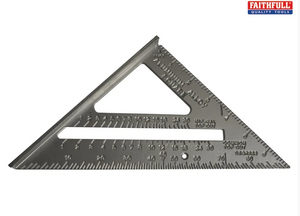 Faithfull Aluminium Roofing Square (7in)