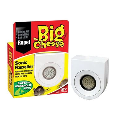Big Cheese Sonic Mouse & Rat Repeller STV717