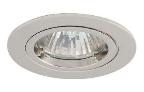 Twistlock Die-Cast Downlight Chrome GU10