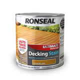 Ronseal Ultimate Decking Stain 2.5lt Natural Pine