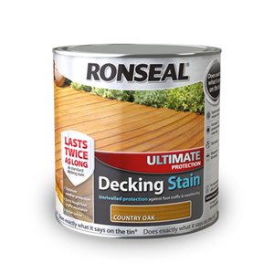 Ronseal Ultimate Decking Stain 2.5lt Teak