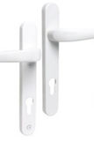 uPVC Sterling Lever Door Handles White