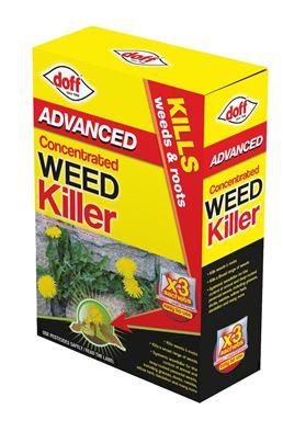 Doff Advanced Concentrated Weed Killer 3 x 80ml Sachets