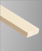 Stripwood Slip W42 19mm x 6mm  2.4mt Whitewood