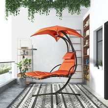 Load image into Gallery viewer, Hanging Chaise Lounger with Stand
