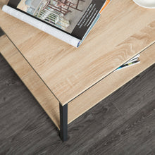Load image into Gallery viewer, Rectangular Coffee Table with Storage