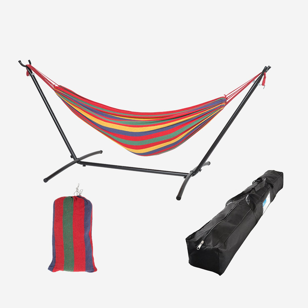 Double Classic Hammock with Stand