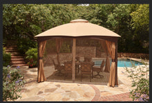 Load image into Gallery viewer, 10 x 12 Gazebo Replacement Mosquito Netting Only