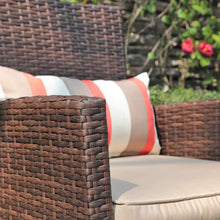 Load image into Gallery viewer, 3 Piece Wicker Outdoor Bistro Table Set