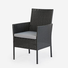 Load image into Gallery viewer, Outdoor Wicker Patio Chair with Cushions (Set of 4)