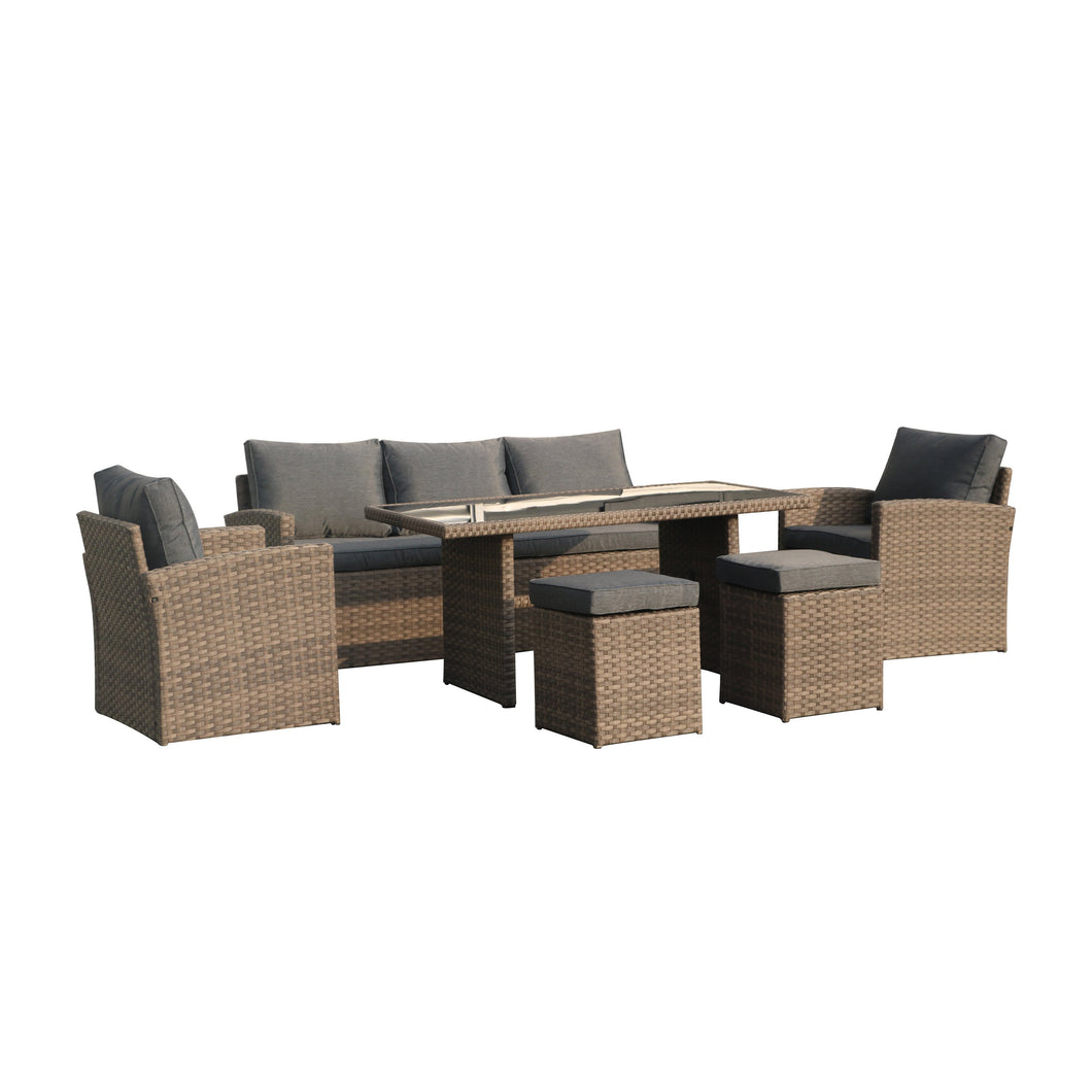 Outdoor Dining Table Set Patio Conversation Furniture