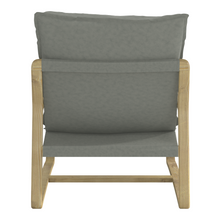 Load image into Gallery viewer, Wooden Arm Lounge Chair